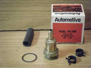 69 1969 Ford Torino 390 GT GT390 (MANUAL TRANS ONLY) New Fuel Gas Filter