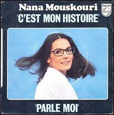 NANA MOUSKOURI C'EST MON HISTOIRE 45T SP 1979 PHILIPS 6176.007
