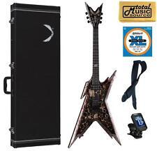 Dean Dimebag Razorback SKULLZ Electric Guitar FREE Case Strings Tuner Strap ,RZR