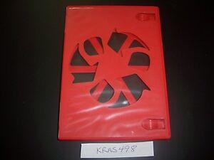 Original Nintendo Wii U RED Replacement Game Case w/ LOGOS SELECT YOUR QUANTITY