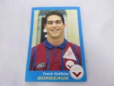 Sticker PANINI FOOT 96 France N°66 FC Girondins de Bordeaux Franck Histilloles