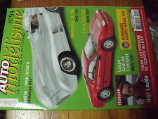 µ? Revue Auto Modelisme n°94 Niki Lauda Audi A4 Cabriolet Ferrari BB 512 Jeep ..