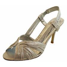 Unbranded Patternless Slingbacks Synthetic Heels for Women