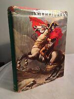 Vtg Book Napoleon Octave Aubry Montaner Simon Hardcover D/J 1963 1st Ed