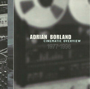 ADRIAN BORLAND THE SOUND Cinematic Overview CD 1996 Setanta PROMO-ONLY unplayed