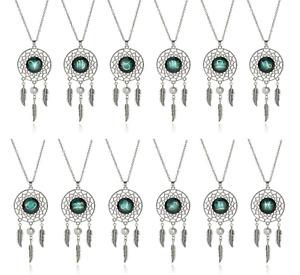 Dream Catcher Astrology Zodiac Necklace Jewellery Horoscope Star Sign