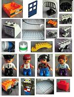 Lego Duplo Flughafen 5595 Ersatzteile Turbine Anhänger Karusell Traktor Pilot