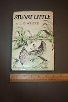 STUART LITTLE E.B. WHITE HARPER & ROW 1945 BOOK CLUB EDITION HC/DJ