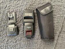 1 Cactus Wireless Flash Rf60 & 1 Cactus V6 Trigger/receiver
