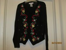 Victoria Jones Petite Large Holiday Sweater