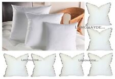 """Luxury Duck Feather Cushion Pad Filled Pillow Inserts Pack 16"""" 18"""" 20"""" 22"""" 24"""""""