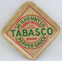 NEW Tabasco McIlhenny Co. Tabasco Pepper Sauce Brand Bamboo Serving Tray