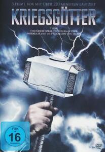 3 FILME BOX KRIEGSGÖTTER THOR THUNDERSTORM Film Moive Blu-ray