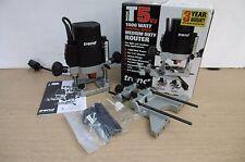 """TREND T5E T5ELB 1000W 1/4"""" PLUNGE ROUTER 110V  + GAUGE/1 DEPTH GAUGE"""