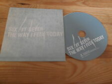 CD Pop Six By Seven - The Way I Feel Today (11 Song) Promo MANTRA cb