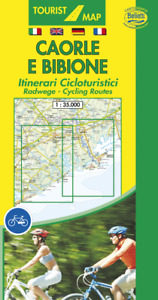 Caorle e Bibione. Itinerari Ciclo Turistici [Cartina Turistica] Belletti