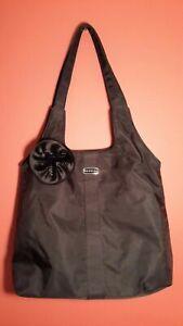 Express Black Medium Shoulder Hobo Handbag