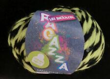 Lana Grossa Lei Bicolor 602 Gelb/schwarz