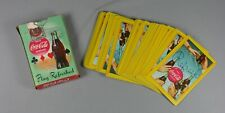 Vtg Coca Cola Playing Cards Refresh Play Refreshed