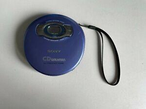 Sony Walkman Model D-EJ611 Compact Disc Player Purple