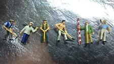 * Preiser 10030 Road Workers with Equipment  1:87 H0 Scale / also 00 Scale