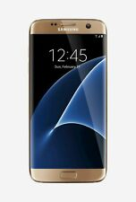 NEW GOLD PLATINUM T-MOBILE 32GB SAMSUNG GALAXY S7 EDGE SM-G935T JA29 B