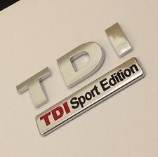 NEW TDI SPORT EDITION Badge Emblem For VW GOLF POLO LUPO PASSAT EOS TRANSPORTER