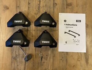 THULE EVO 7105 FOOT PACK FOR VEHICLES WITH NORMAL ROOF, Two Keys & Instructions