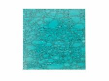 Incudo™ g Natural Turquoise Reconstituted Stone Inlay Blank - 50x50x1.5mm (2x...