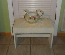 Primitive Old Vintage Wood Stool Bench / Display Accent / Dresser / Plant Stand