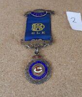Vintage RAOB GLE Primo Jewel Cecil Gordon lodge 5477 Sterling Silver 1957