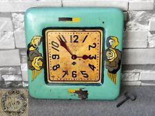 ancienne pendule BOULANGER mouvement cartel JAPY FRERES horloge clock uhr gare