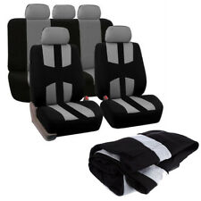 Universal Auto Seat Cover Car Full Styling Seat Cover For Crossovers Sedans Gray