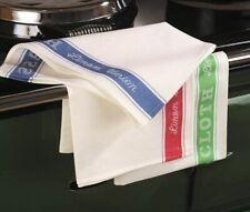 Samuel Lamont Linen Union Glass Cloth Quality Textiles Vintage Kitchen Green