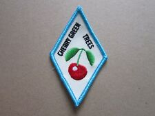 Cherry Green Trees Girl Guides Cloth Patch Badge (L4K)