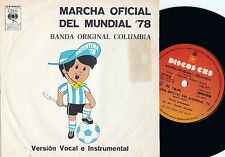 ORIG Argentina PS 45 Official launch of '78 World cup NM Fifa