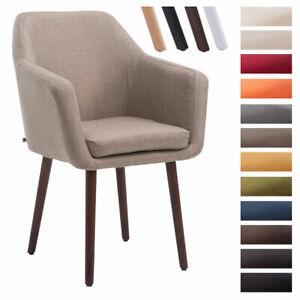 Sedia Poltroncina UTRECHT tessuto sedia ospite braccioli sedia attesa design