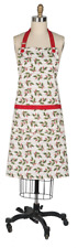 Holly and Berries on Musical Notation Christmas Chef Apron
