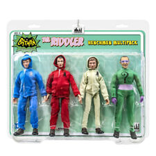 Batman Classic TV Series Figures: The Riddler and 3 Henchman Figures Four-Pack