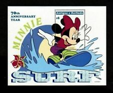 ANTIGUA - 1999- DISNEY - MIINNIE MOUSE - SURFING - WATER SPORTS - MINT S/SHEET!