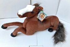New Laying Brown Horse 50cm Soft Cuddly Toy Soft Toy Plush UK SELLER