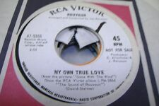 Pop Promo 45 Rouvaun - My Own True Love / Love That Lasts Forever On Rca Victor