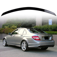 Paint #359 W204 Mercedes BENZ C-Class C250 A Type Rear Trunk Spoiler Wing ABS