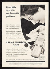 3w2289/Old Advertising 1960-Cream Mouson Soap-with depth effect