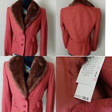 Anne Klein Suit Jacket Blazer 72%wool  size 10p new
