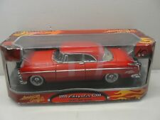 NEW AMERICAN GRAFFITI 1955 CHRYSLER C300 RED 1:18 SCALE DIECAST CAR