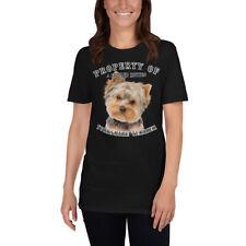 Yorkshire Terrier 3 Property Of Short-Sleeve Unisex T-Shirt