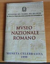 NL* ITALIA 2000 LIRE ARGENTO 1999 MUSEO NAZIONALE ROMANO FDC SET ZECCA PERFETTO
