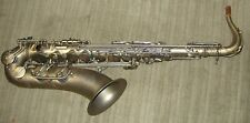 System 54 Power Bell tenor saxophone, rolled tone holes, antique matte
