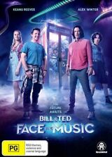 Bill and Ted Face The Music DVD Region 4 Keanu Reeves
